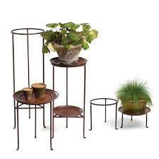 ... Large-size of Genuine Tiered Plant Stand Tiered Plant Stand Wrought Iron  Planters Wood Tiered ...