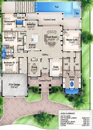 Plan 65614BS: One Story Four Bed Beauty in 2018 | For the Home ...