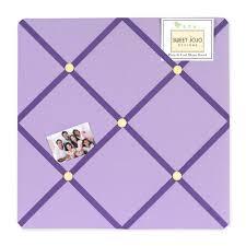 Purple Memo Board Beauteous Purple Fabric Memo Board French Ribbon NoticePhoto Pin Board
