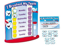 I Brushed My Teeth Reward Chart At Lakeshore Learning