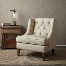 com sawyer on tufted accent chair cream see below kitchen dining