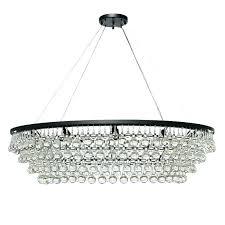 oval chandelier
