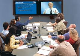 Modern Business Communication Video Conferencing