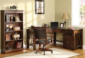 corner desk for home office. Old And Traditional L Shaped Oak Wood Home Office Corner Desk . Corner Desk For Home Office