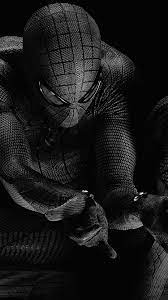 Black Spiderman 4k Hd Wallpaper