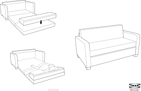 Ikea Instruction Manuals Ikea Chairs Solsta Sofa Bed Pdf Assembly Instruction Free Download