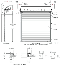 single car garage door size doors charming roll up with sizes plans 0
