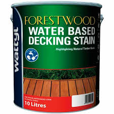 Wattyl Stain Colour Chart Nz Forestwood Water Based Decking Stain 10 Litre Red Kwila