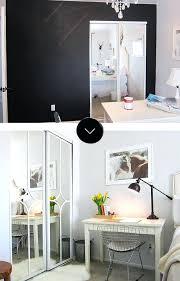closet door makeover before after closet door makeover on diy mirrored closet door makeover