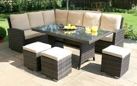 lg outdoor rattan corner dining set seat garden sofa san marino with regard to outdoor rattan garden furniture