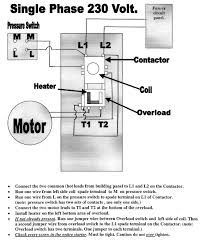 air compressor wiring diagram 3 phase wiring diagram schematics wiring a big compressor magnetic motor starter the garage