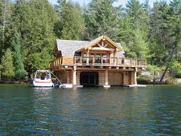 E Amazing Waterfront Log Home