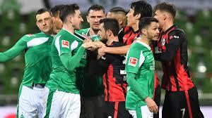 Contact sv werder bremen on messenger. Bundesliga Werder Bremen Stoppt Frankfurts Erfolgsserie Zdfheute