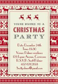 Free christmas party invitation templates and the design invitation  templates invitations with reizend your ideas 16
