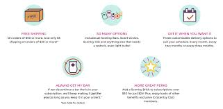 Scentsy Shipping Chart Scentsy Club Subscription Independent Scentsy Consultant