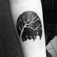 60 Negativní Prostorové Tetování Vzory Pro Muže Manly Inkoustové