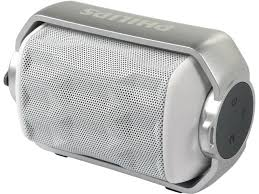 speakers bluetooth portable. philips bt2200w/27 rugged waterproof bluetooth portable speaker - white speakers