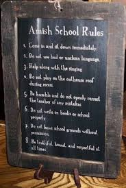 best amish children images amish country  amish school rules