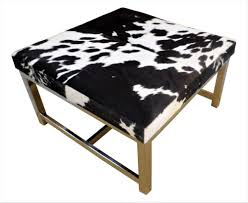 alluring cowhide ottoman for your living room decor sofa cowhide ottoman gray cowhide ottoman coffee