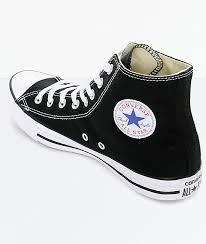 converse chuck taylor all star black high top shoes