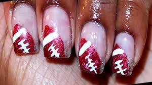Alabama Nail Art Designs Football Nail Art Design