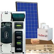 outback 3000w off grid kit 12 250 watt canadian solar panels cs6p 250p black frame