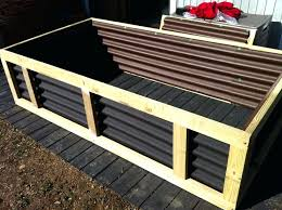 corrugated metal garden beds. Simple Corrugated Metal Raised Beds Picture Of Bolt Together Your Panels Into The Final Bed  Shape Corrugated   Inside Corrugated Metal Garden Beds A