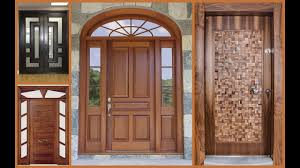 Wooden door designing Solid Wood Front Door Design Design World 40 Best Wooden Door Designs Collection Design World