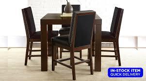 stella pub table 4 chairs set