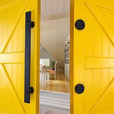 winsoon metal sliding barn door hardware accessories indoor door handle with two s all s