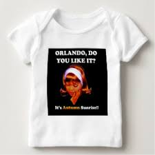 do you like it orlando it s autumn sunrise baby t shirt