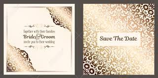 Golden Invitation Card Design Wedding Invitation Cards Design Makar Bwong Co