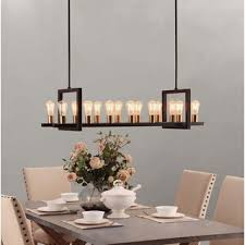 island chandelier lighting. griffin rectangular 14light chandelier island lighting l
