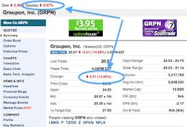 Chart House Groupon Marketing Japan Groupon Stock Holders Head For The Exits