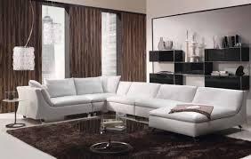 contemporary furniture ideas. Contemporary Design White Couch In Minimalsit Interior Black Furniture Ideas