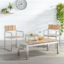 whitewash outdoor furniture. Macon 5-Piece Teak Outdoor Bar Set - Whitewash · Chair Furniture