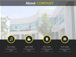powerpoint company presentation about us company powerpoint templates business company