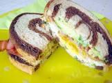 bacon  egg   avocado sandwich  paula deen
