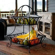 Kitchen, Fruit Stand For Kitchen Fruit Holder Walmart Avocado Banana Orange  Mandarine Wooden Table Cabinet