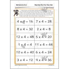 Multiplication Facts: Missing Number Problems   PlanBee