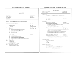 Extremely Inspiration College Freshman Resume 3 Samples Cv