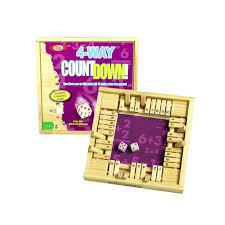 Countdown Roll Chart Holder 4 Way Countdown Braille Math Game