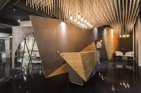 ceiling design for office. This Office Ceiling Design Has Parametrical Organic Wave Structure | Studio Ardete - The Architects Diary For