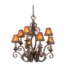 kalco 4261fc s205 ibiza 8 light 30 inch french cream chandelier ceiling light photo