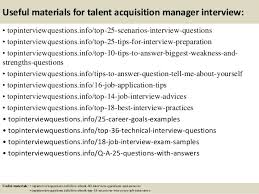 13 useful materials for talent acquisition manager talent acquisition manager job description
