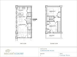 Floor PlansOriginally the carriage house for Miller    s Court  this area has been transformed into gorgeous two story  two bedroom apartments  Each apartment has its own