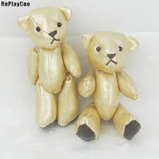 2019 kawaii joint teddy bear leather toy stuffed animal teddy bears stuffed plush pendant kids toys wedding gifts gmr029 from center 26 58 dhgate com