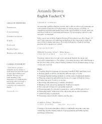 Sample Of Teaching Resume Cover Letter Elementary Teacher Parent