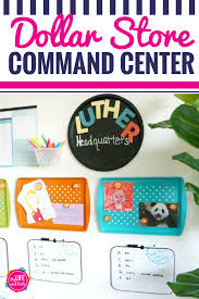 Diy Dollar Store Command Center My Life And Kids
