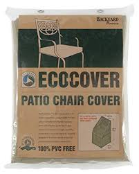 amazon patio furniture covers. mr barbq backyard basics ecocover pvc free premium patio chair cover amazon furniture covers n